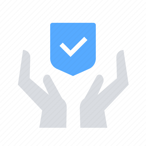 hands, insurance, protection icon