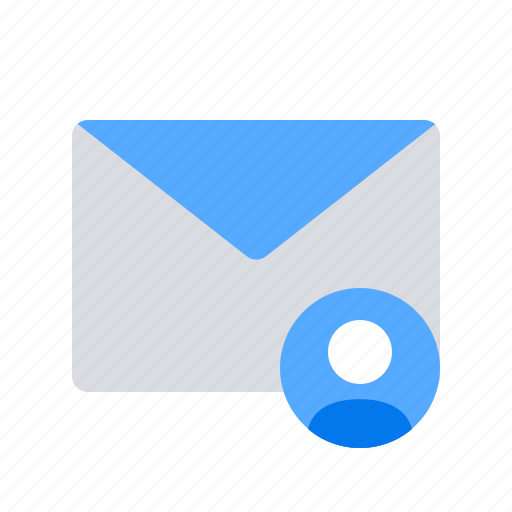 account, contact, email icon
