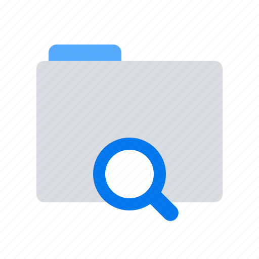 Files, folder, search icon - Download on Iconfinder