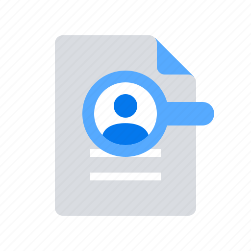 hr  resume  search icon