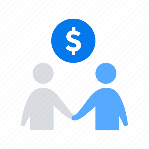 business, deal, money icon