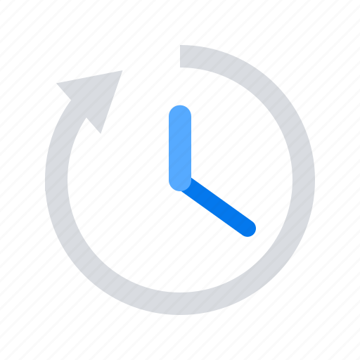 clock, forward, time icon