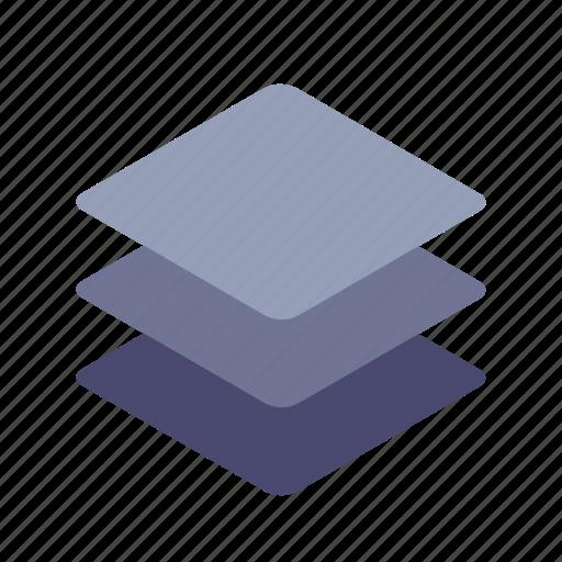 arrange, layers, levels, stack icon
