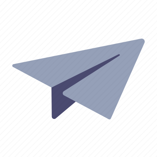 airplane, delivery, email, send icon
