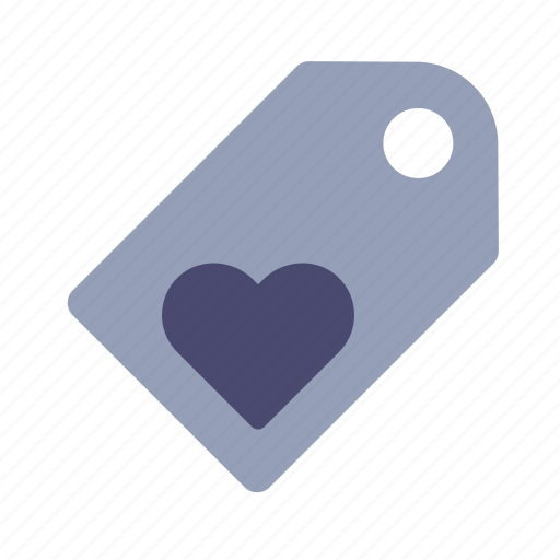 favourite, heart, label, tag icon