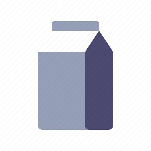 Diary, drink, milk, package icon - Download on Iconfinder