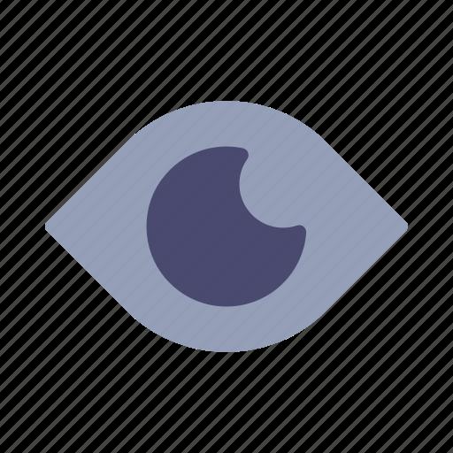 eye, impression, view, watch icon