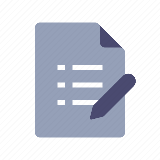 checklist, compose, pen, tasks icon