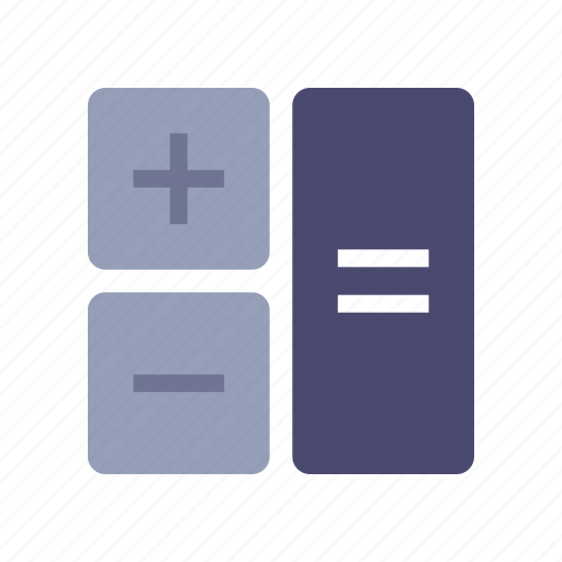 calc, calculation, calculator, math icon