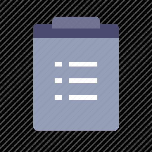 checklist, checkmark, tasks, todo list icon