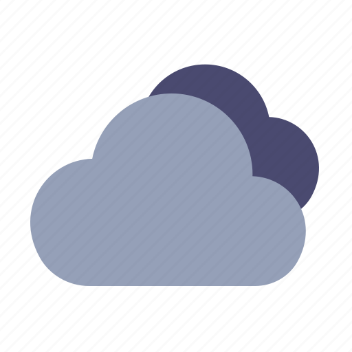 clouds, cloudy, data storage, weather icon
