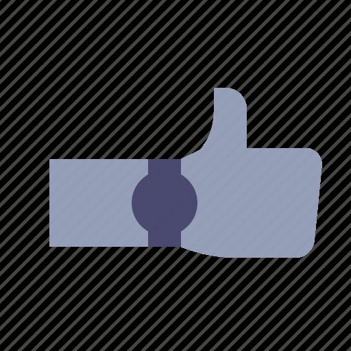 feedback, like, positive, thumb up icon