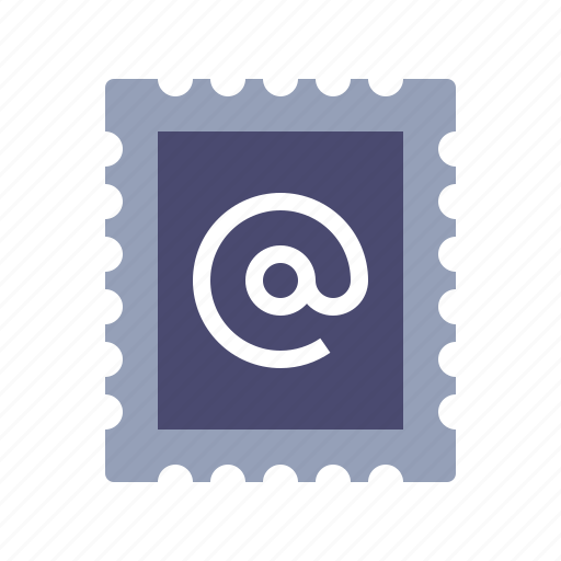 email, letter, postcard, stamp icon