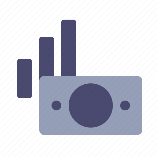 bars, currency, graph, money icon