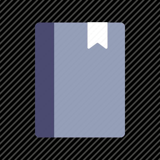 book, bookmark, diary, journal icon