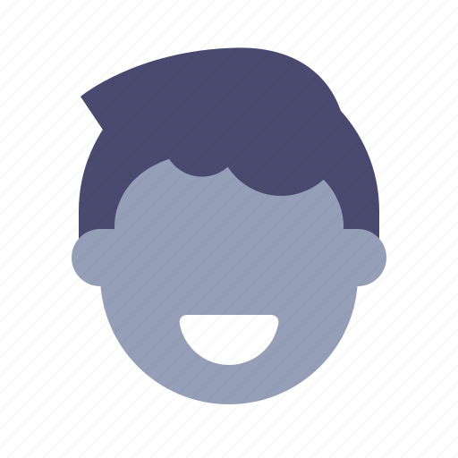 Face, head, male, man icon - Download on Iconfinder