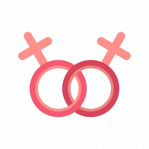 couple, female, lesbian, love, marriage, sex, shape icon