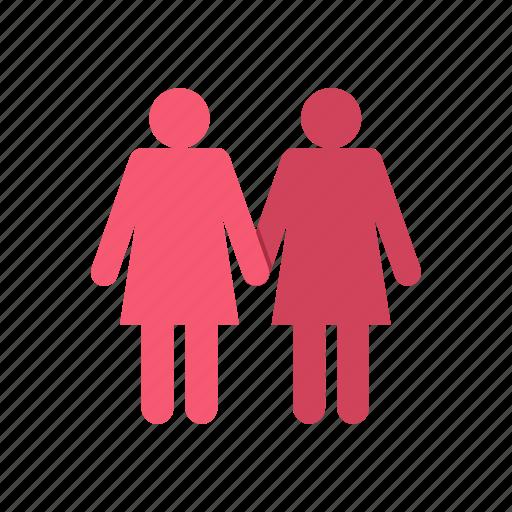 couple, female, girls, lesbians, sex, shape, two icon