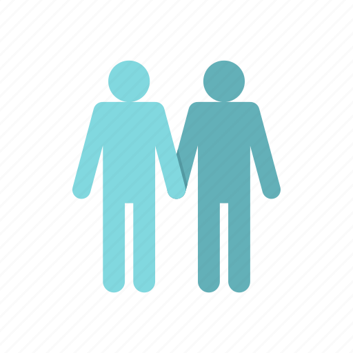 Couple, gay, homosexual, male, marriage, men, two icon - Download on Iconfinder