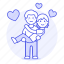 couple, gay, happy, heart, lgbt, lift, lifting, love, lover, man, men, partner, princess