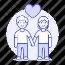 couple, gay, hand, happy, heart, holding, lgbt, love, lover, man, men, partner