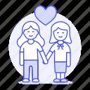 couple, hand, happy, heart, holding, lesbian, lesbians, lgbt, love, lover, woman, women icon