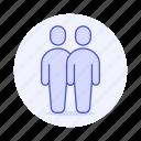avatar, couple, gay, homosextual, lgbt, male, man, men, partner, pride, rainbow