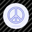 flag, lgbt, peace, pride, rainbow, symbol, symbols icon