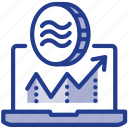 business, coin, digital, facebook, libra, libracoin, money icon