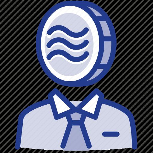 coin, digital, facebook, libra, libracoin, money, owner icon