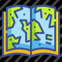 atlas, book, education, library, location, map, school