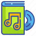 audio, book, disc, education, library, music, school