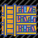 book, education, ladder, library, school, shelf, step