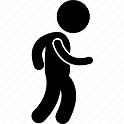 boy, child, kid, playing, running, small, walking icon
