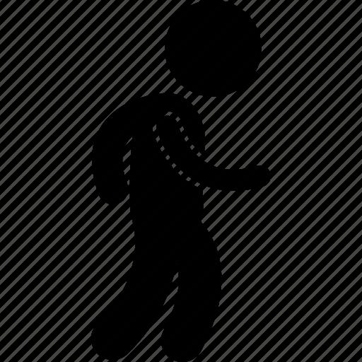 boy, child, kid, playing, running, small, walking icon
