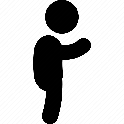 boy, child, human, side, standing, toddler icon
