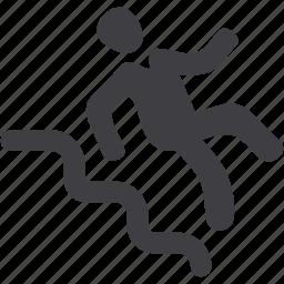 slip, slippery icon