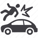 accident insurance, auto insurance, car insurance icon