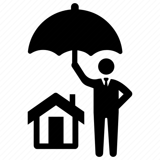home, insurance, protection icon