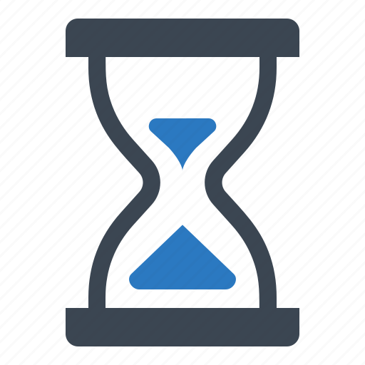 clock, deadline, hourglass, timer icon