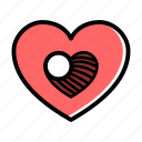 kindness, amour, lifestyle, heart, love, valentine, marriage icon