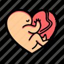 fetus, baby, lifestyle, heart, love, child, kid