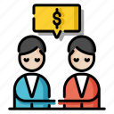 agreement, businessman, cooperation, deal, handshake, negotiation skill, partnership icon