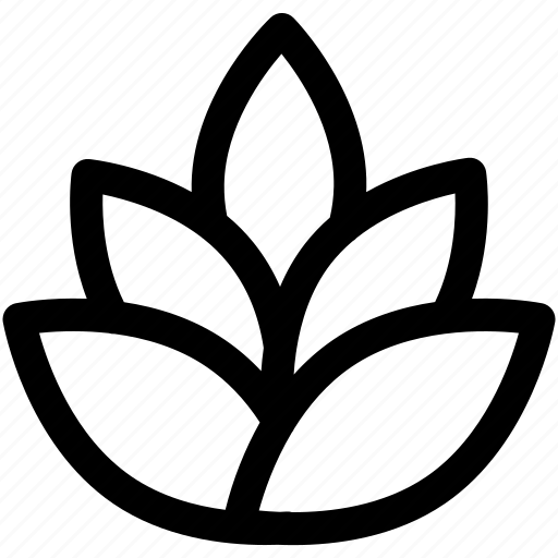 flower, lotus, tools icon