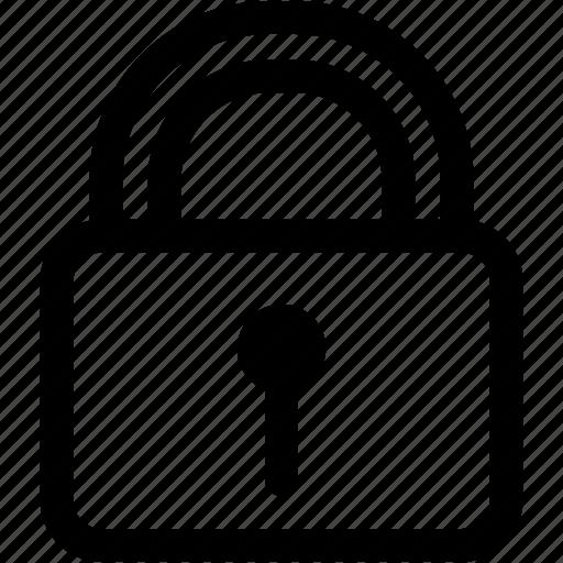 key, lock, padlock, tools icon