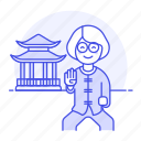 fu, entrance, chinese, lifestyle, martial, place, shrine, kung, female, temple, holy, art, slow