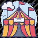 circus, fair, festival, carnival icon