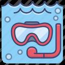 diving, dive, sports, sea icon