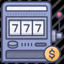gamble, machine, slot, jackpot