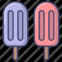 ice, cream, sweet, summer